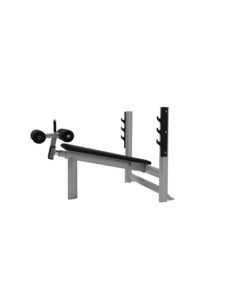 Decline Bench with Bar Holders and Adjustable