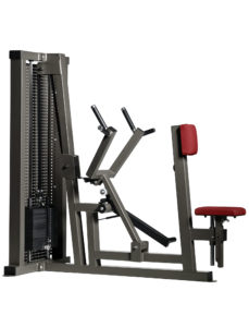 Seated Rowing Machine with Cest Pad