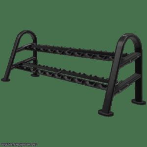 Instinct® Dumbbell Rack 10-Pair/2 Tier